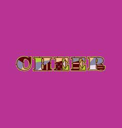Cheer concept word art vector