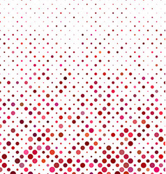 Colored dot pattern background design vector