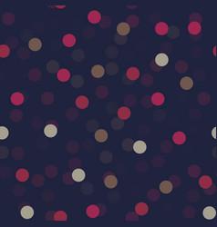 confetti geometric seamless pattern vector image