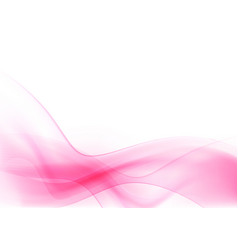 curve and blend light pink abstract background 004 vector image
