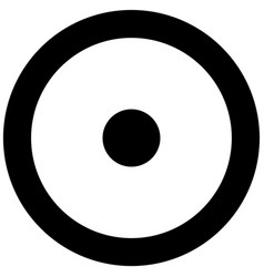 Electric sign symbol of food grade metal indicate vector