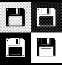 floppy disk for computer data storage icon vector image