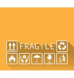 Fragile vector image