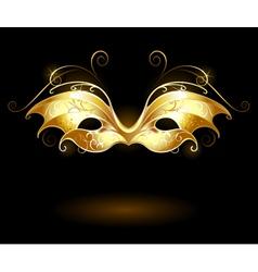 Golden mask vector
