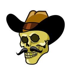 Golden Teeth Skull vector