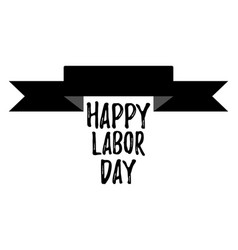 Happy labor day banner and giftcard vector