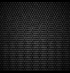 hexagonal background dark metallic texture vector image