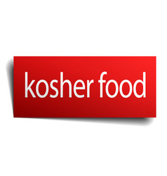 Kosher food vector
