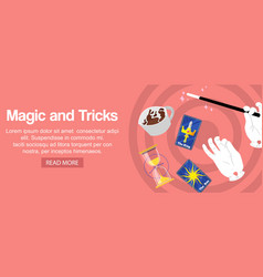 Magician hands holding magic wand cards sand vector