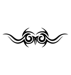 tribal eyes mask design concept vector image