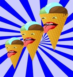 ice creams222 vector image vector image