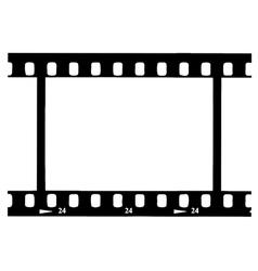 Black Film Strip vector image
