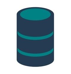 cd storage icon vector image