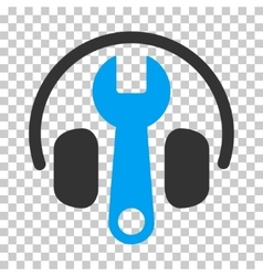 Headphones Tuning Wrench Icon vector