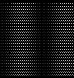 pattern with white polka dots seamless vector image