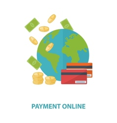 Payment online concept vector
