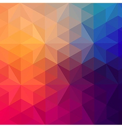 Retro pattern geometric shapes colorful mosaic vector