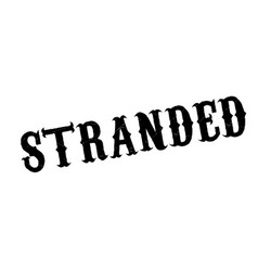 Stranded rubber stamp vector