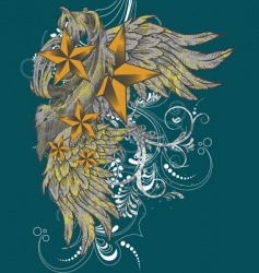 t-shirt graphics vector image