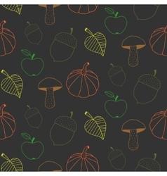 Trendy Autumn Background vector