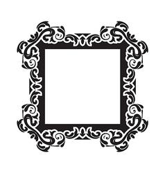 vintage frame one vector image vector image