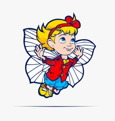 kid vector image vector image