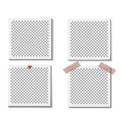 empty photo frame vector image