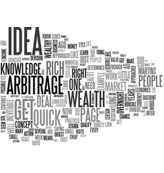 A simple get rich quick idea text word cloud vector