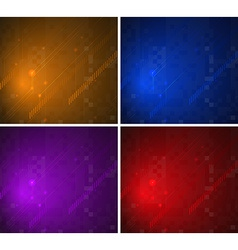 Colorful background patterns vector