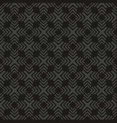 tile black and grey pattern or dark background vector image