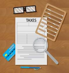 Write tax form vector