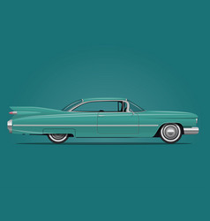 classic american car vector image vector image
