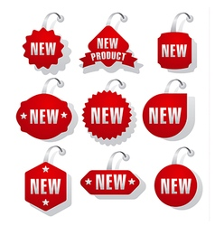 advertising and promotion stickers vector image