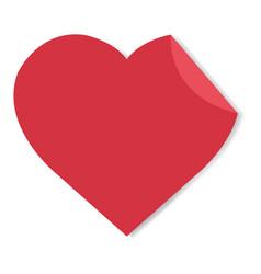 happy valentines day label vector image vector image