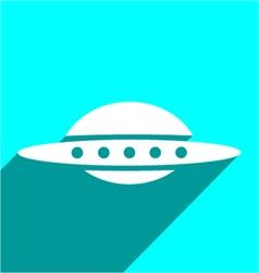 UFO symbol vector image