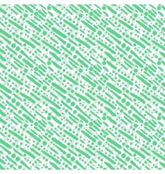 Pattern with diagonal brushstrokes and dots vector image