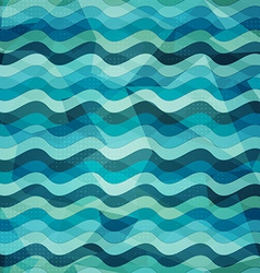 water seamless pattern with grunge effect vector image