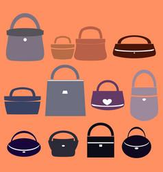 Bags for women vector