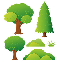 Different types of tree vector