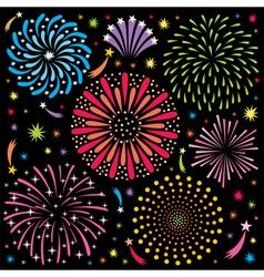Fireworks 2 vector