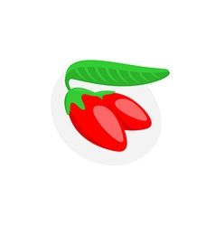 Goji berry vector image