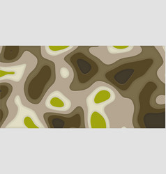 landscape cut paper vector image