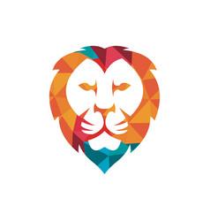 Lion logo design inspiration vector