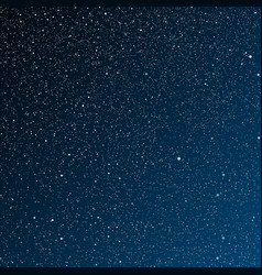 Starry night Dark Bluesky Stars sky night vector