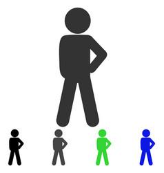 child audacity flat icon vector image vector image