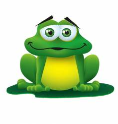 froggy vector image