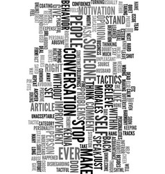 you have the right text word cloud concept vector image vector image