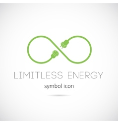 Limitless Energy Concept Symbol Icon vector image vector image