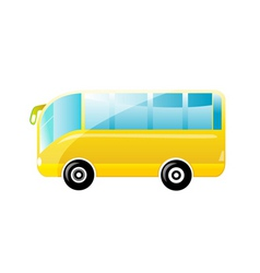 beautiful bus vector image