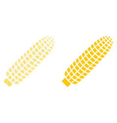 Corn composition of binary digits vector